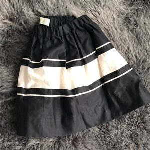 NWT Crewcuts toddler skirt